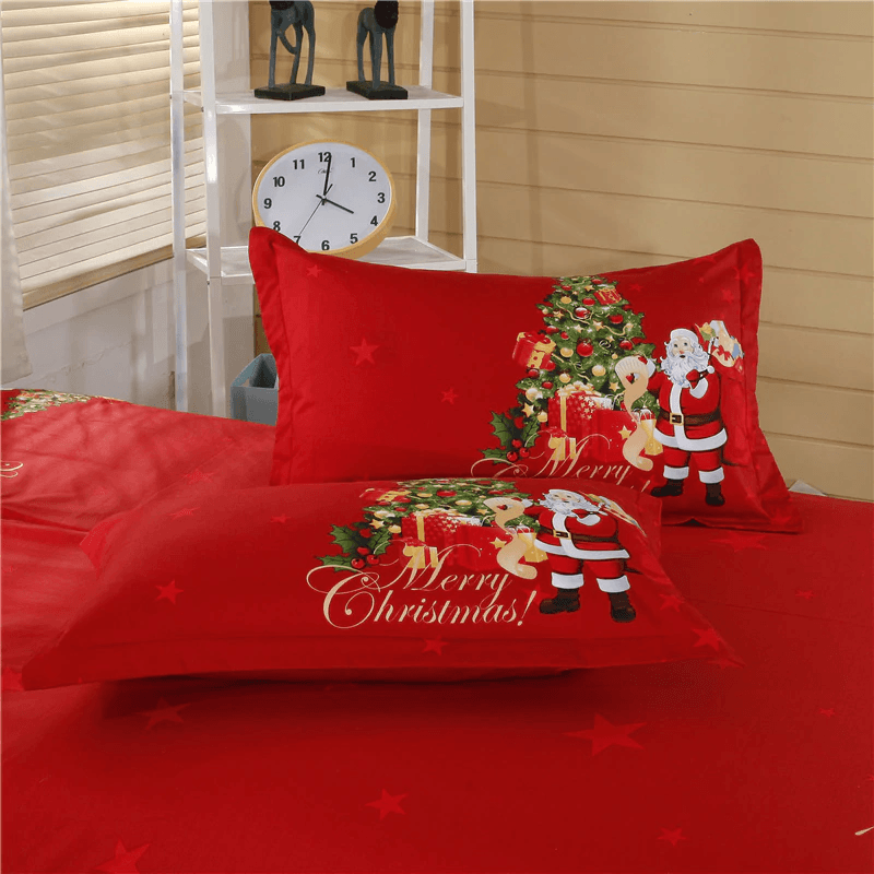 Merry Christmas Luxury Bedding Set