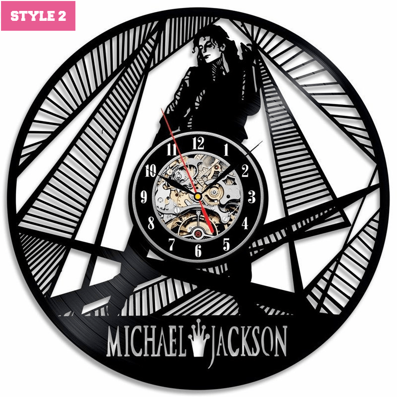 Michael Jackson Wall Clock