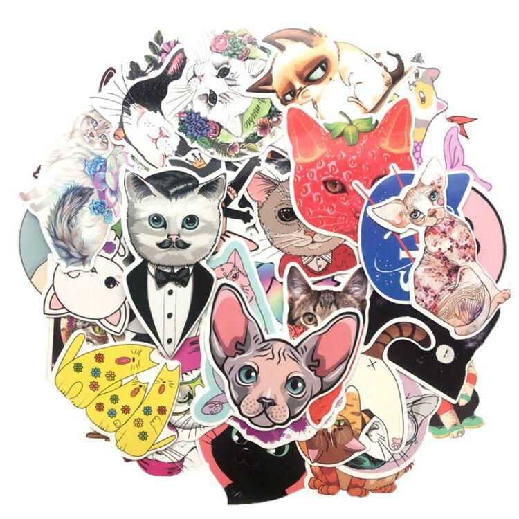 Cat-World Stickers