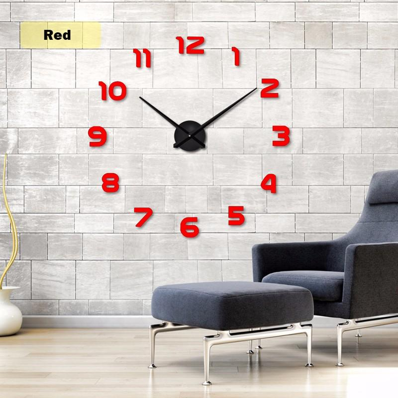 3D DIY Acrylic Wall Clock