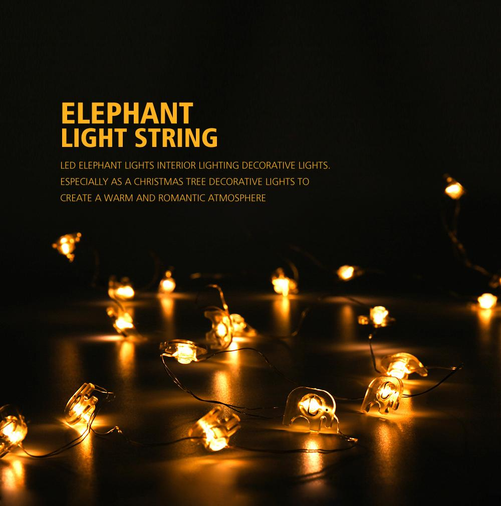 Elephant String Light