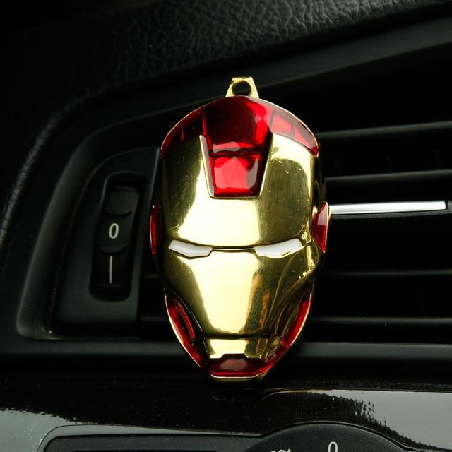 Iron Man Car Air Freshener Perfume