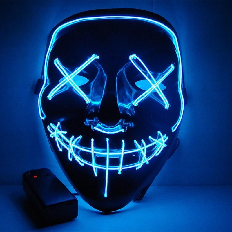 Halloween Mask Led Light Up