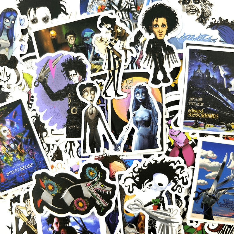 Tim Burton Stickers