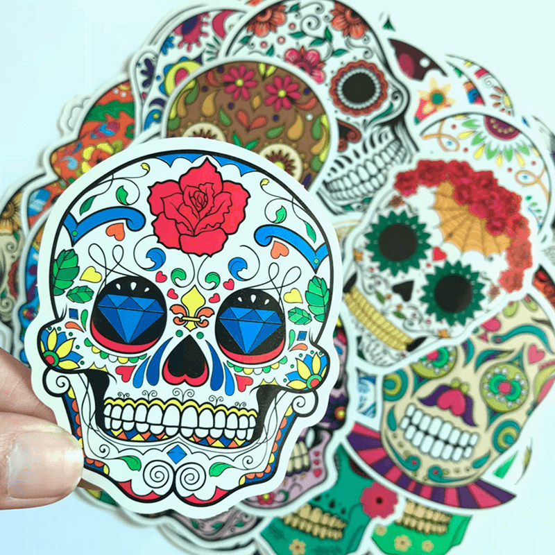 Skull Head Stickers