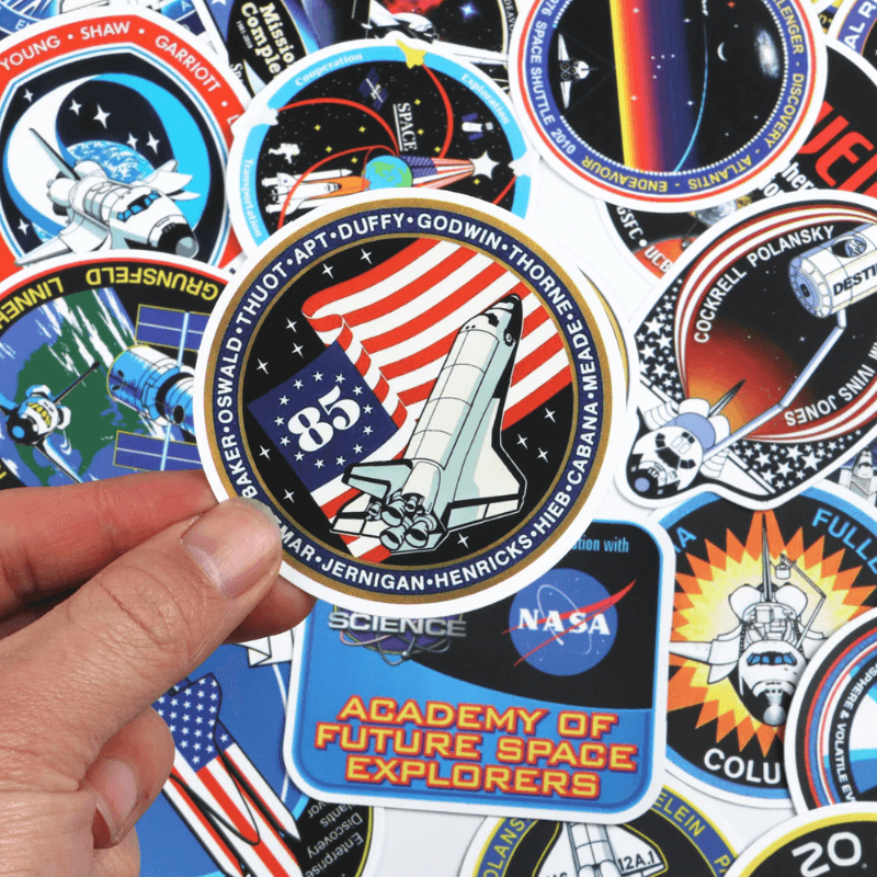 NASA Spacecraft Stickers