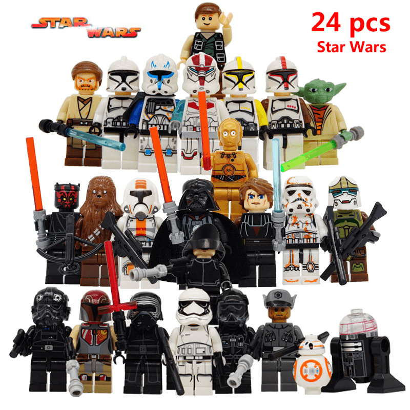 Star Wars Lego Set 24 Pcs