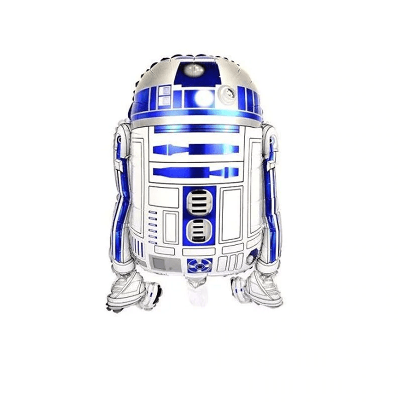 Star Wars Robot Balloons Set 2 Pcs