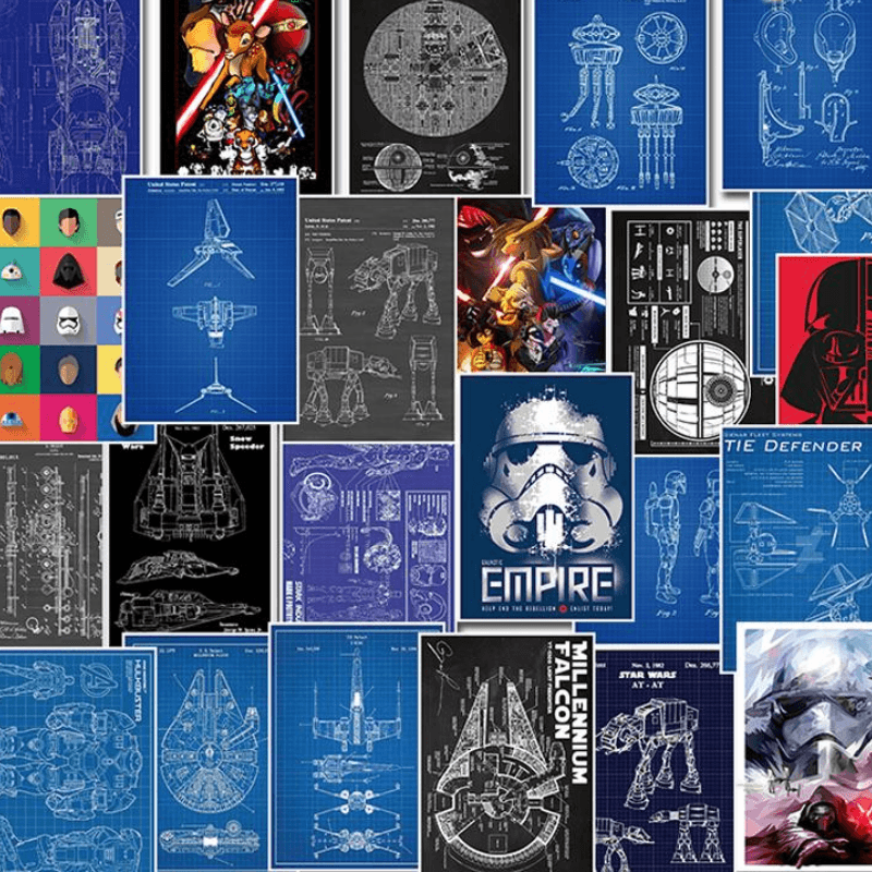 Star Wars Creative Stickers Set 25 Pcs
