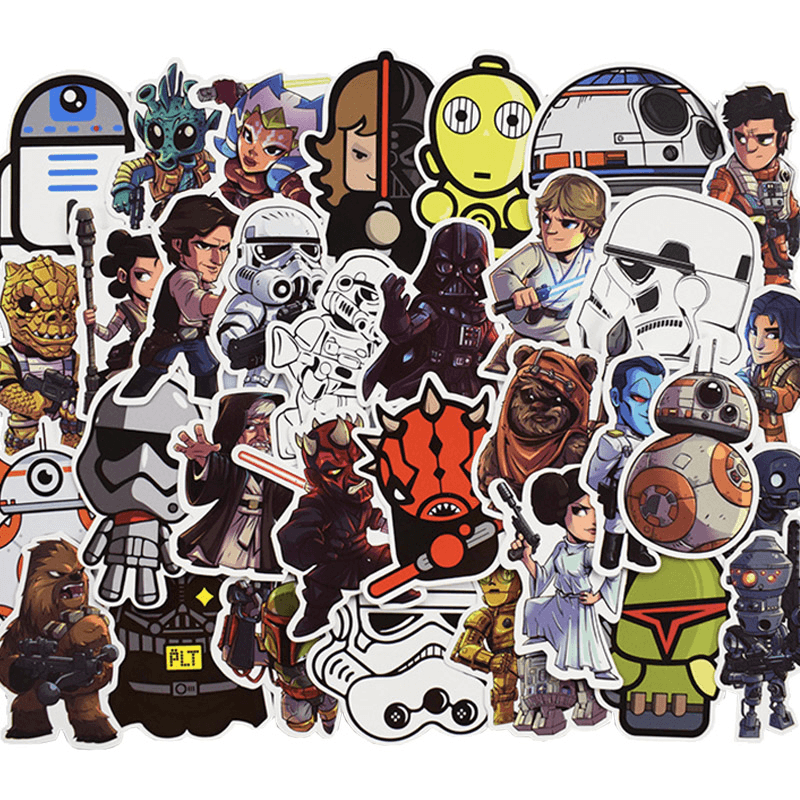 Star Wars Graffiti Stickers