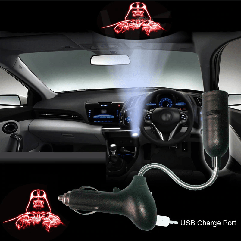 Star Wars LED Projector For Car