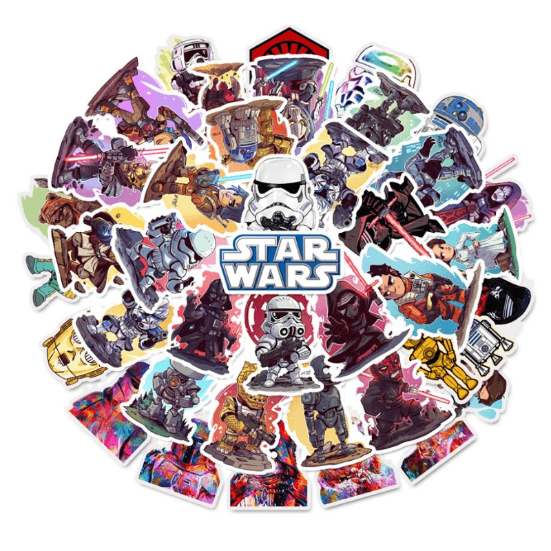 Star Wars Mix Stickers