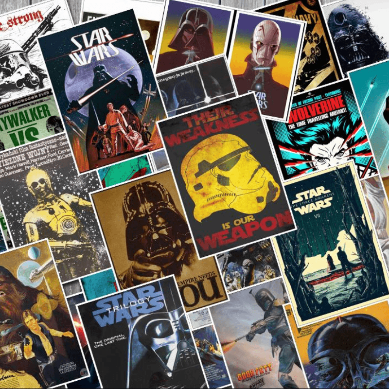 Star Wars Special Stickers Set 25 Pcs