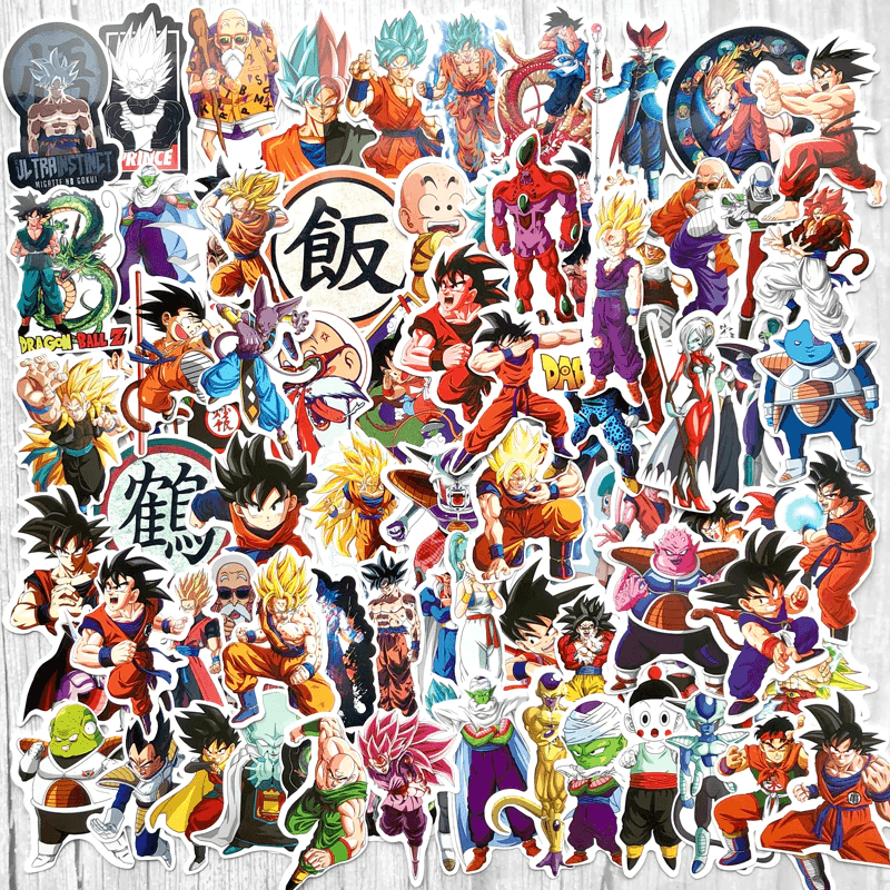 Super Saiyan Dragon Ball Stickers