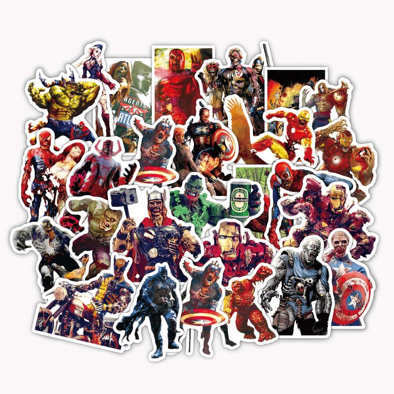 Marvel Zombies Stickers