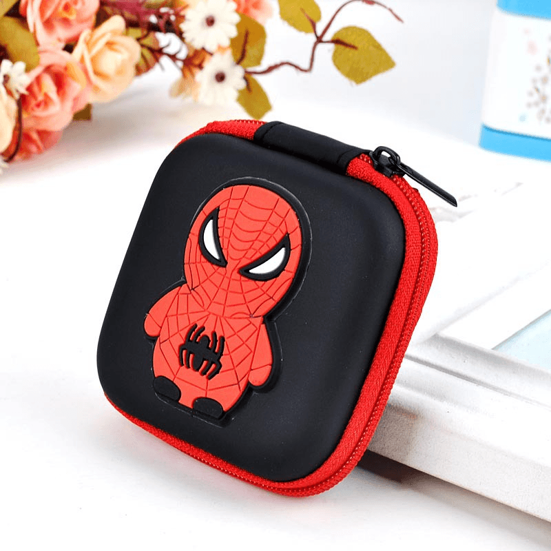 Superhero Zipper Coin Purse