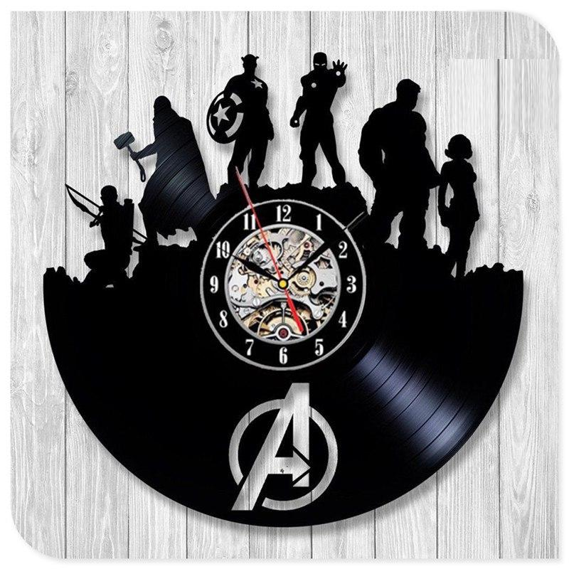 The Avengers Wall Clock