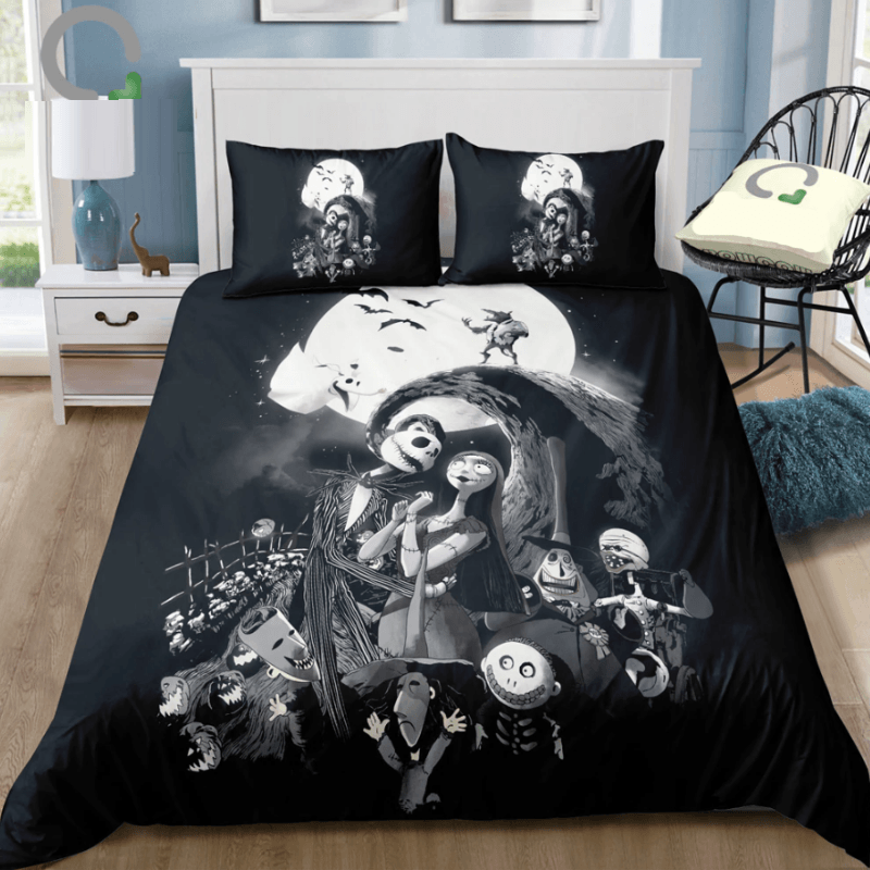 The Nightmare Before Christmas Microfiber Bedding Set