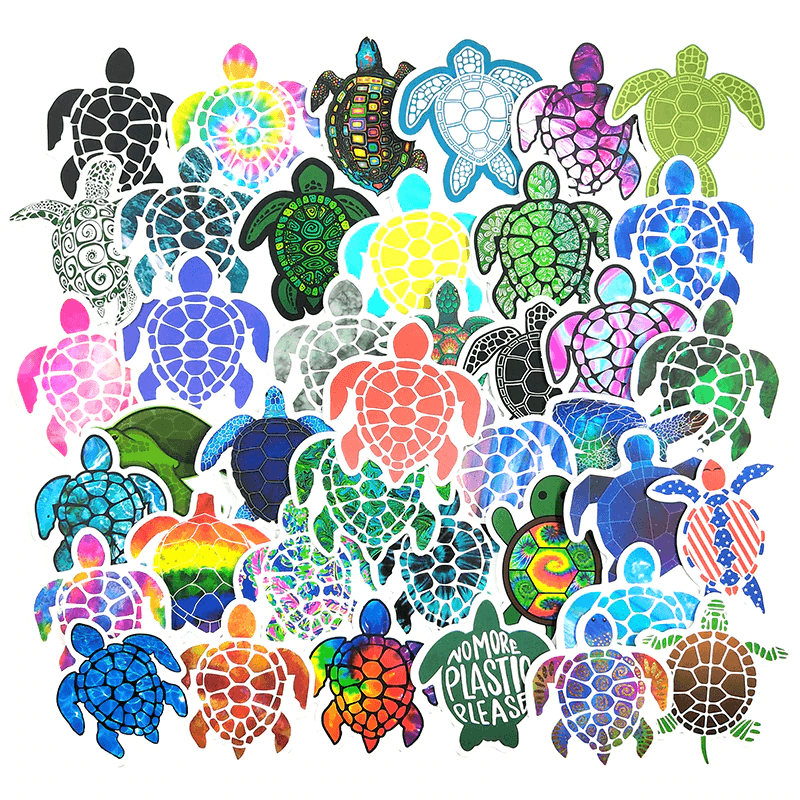 Turtle Colorful Stickers