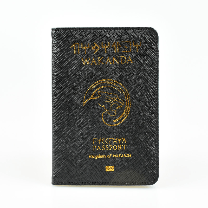 Wakanda Passport Cover