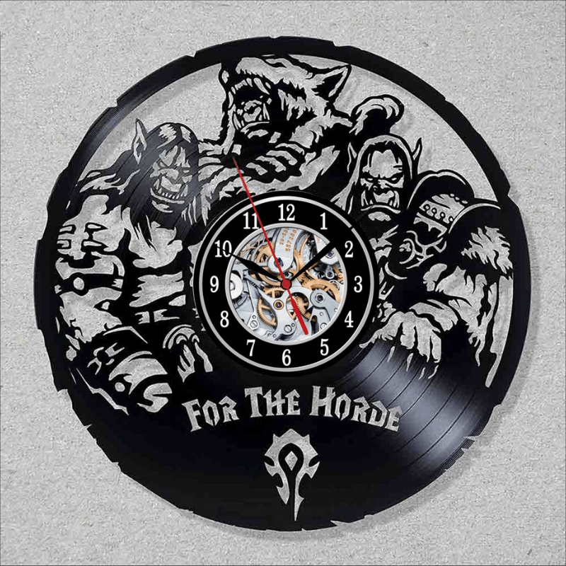 World of Warcraft Wall Clock
