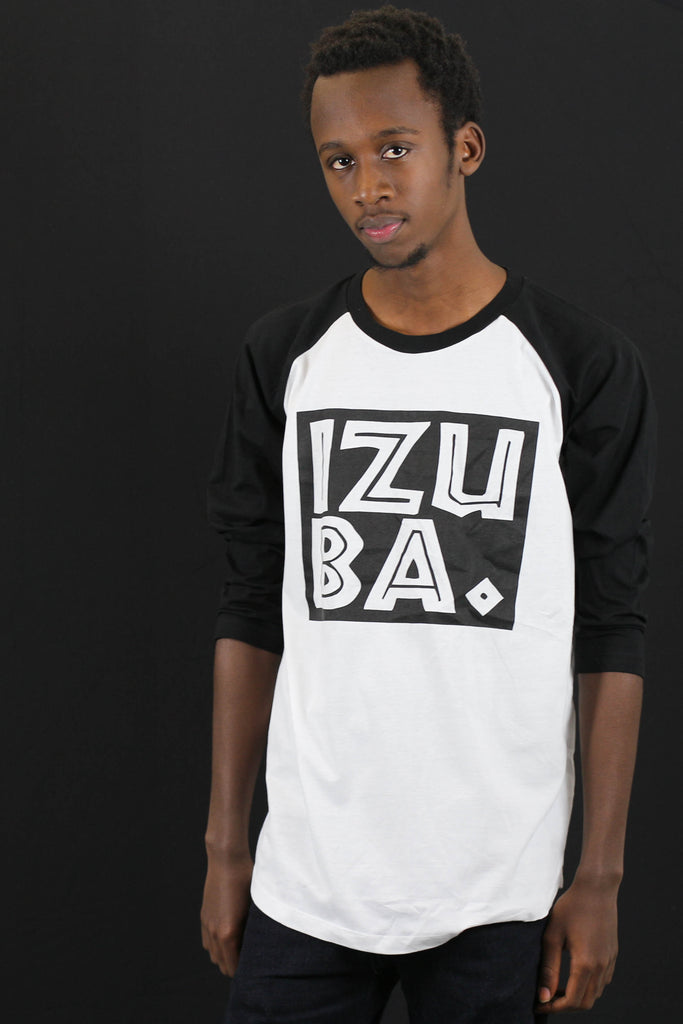 Baseball Shirt mit Label Print
