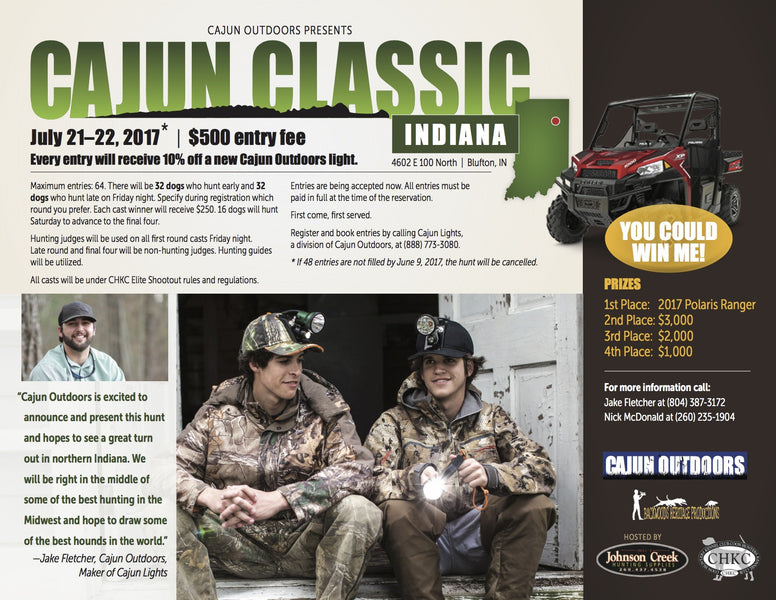 Cajun Outdoors Presents the Cajun Classic