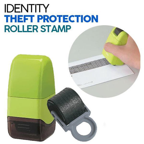 ID Blackout™ Roller Stamp for Identity Theft Protection