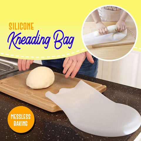 Mess-Free Silicone Kneading Dough Bag