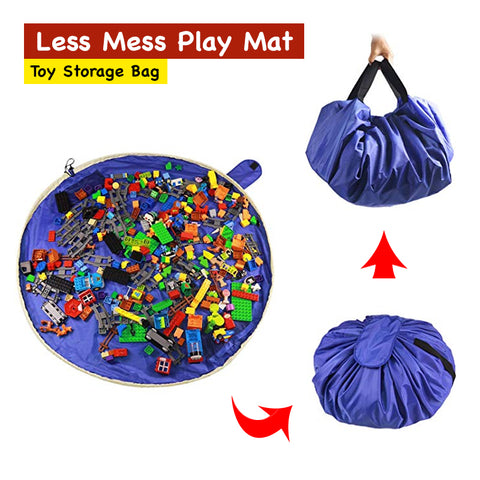 Less Mess Play Mat - Toy Storage Bag