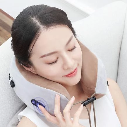 U-Shaped Neck & Shoulder Massaging Pillow