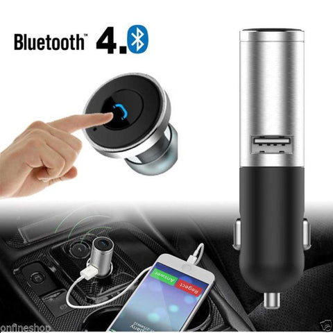 Q8 Mini Bluetooth Car Charger Headset