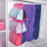 6 Pocket Hanging Handbags Organizer
