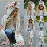 2-in-1 Kids Unicorn Hat & Scarf