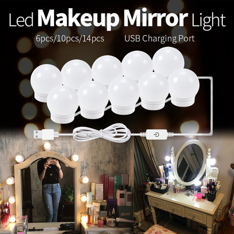 DIY Makeup Mirror Lights