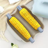 Dual Cave Microwave Corn Steamer