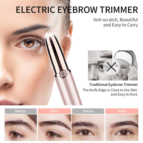 Lipstick Eyebrow Trimmer