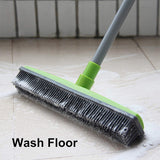 PerfectSweeper™ ALL-IN-ONE Rubber Broom With Squeegee