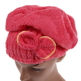 Home Quick Dry Hair Hat-Towel