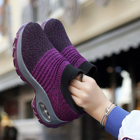 Women Breathable Slip-On Sneakers
