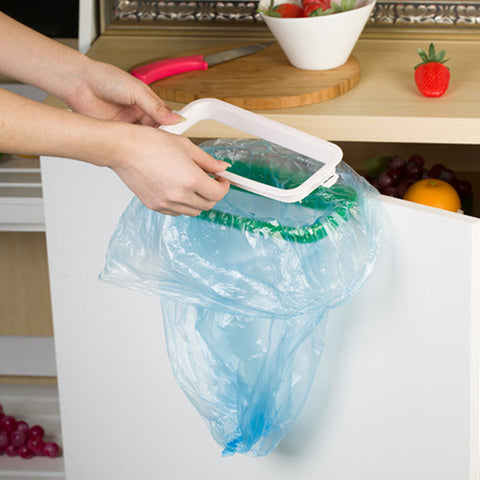 Cupboard Garbage Bag Holder