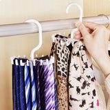 Space Saving Rotating Neck Ties Hanger