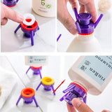 Squeeze-It-Out™ Bottles Cap Stand Kit - Set of 6