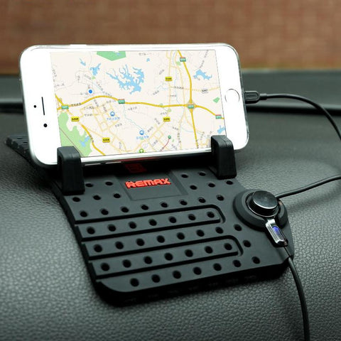 Car Mobile Phone Universal Holder With Magnetic USB Connector