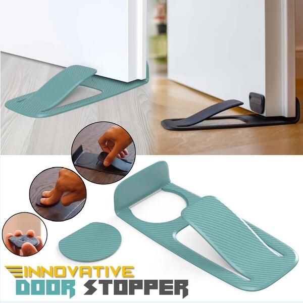 Stop&Hold™ Innovative Door Stop Holder