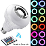 Smart RGB 2 in 1 LED Light Bulb and Bluetooth Speaker