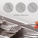Compact Eating Utensils Organizer