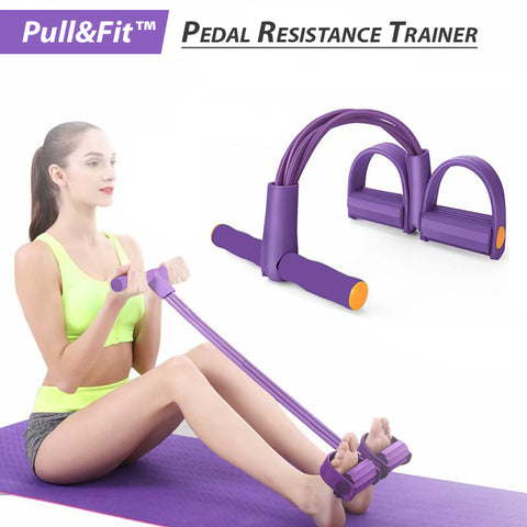 Pull&Fit™ Pedal Resistance Trainer