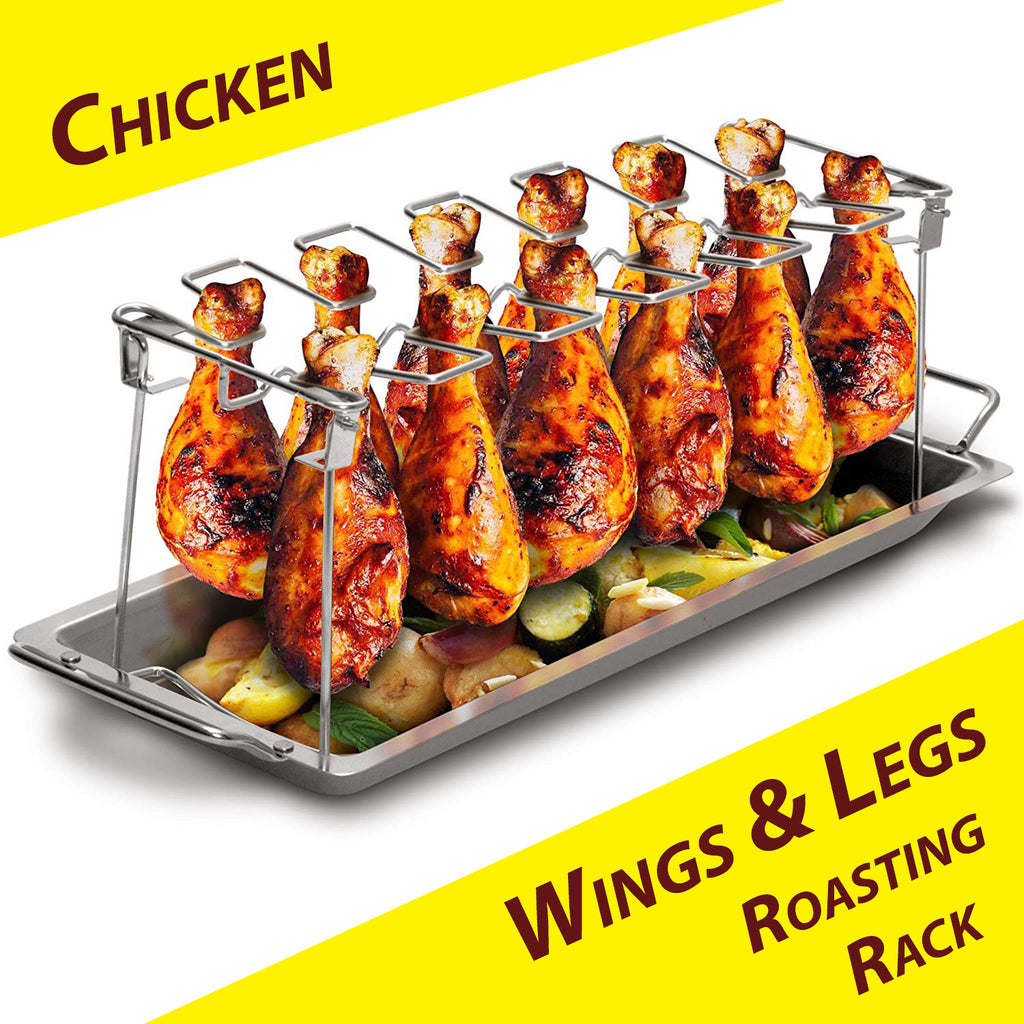 Chicken Wings & Legs Roasting Rack