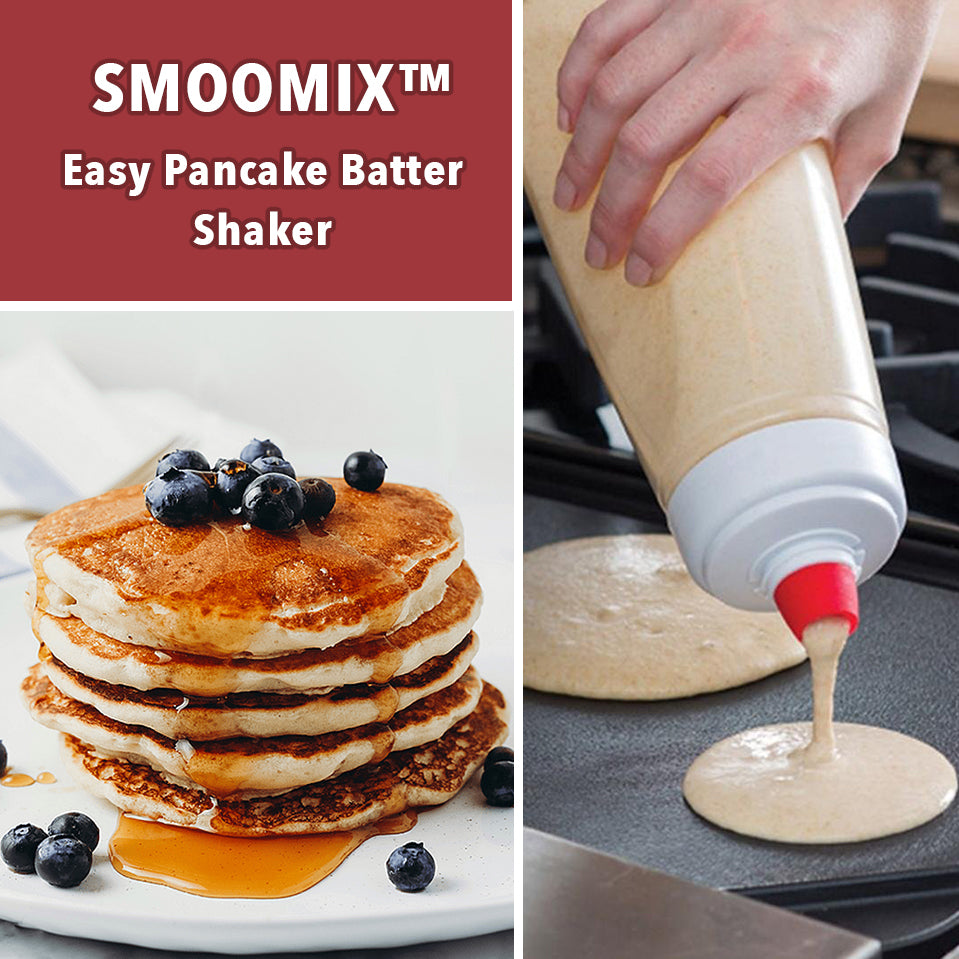 SmooMix™ Easy Pancake Batter Shaker